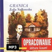 Zofia Nałkowska Granica-opracowanie