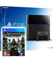 Konsola PlayStation 4 500GB + Assassin's Creed: Syndicate + DLC