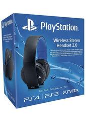 Słuchawki bezprzewodowe stereo Sony PlayStation z mikrofonem 2.0 czarne (PS3/PS4/PSVita)