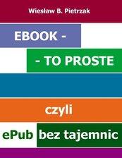 E-book - to proste, czyli epub bez tajemnic