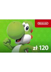 Nintendo eShop digital code 120 zł (Nintendo)