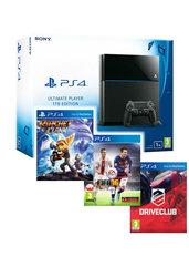 Konsola PlayStation 4 1TB + Ratchet & Clank + FIFA 16 + Driveclub - kurier 0 zł