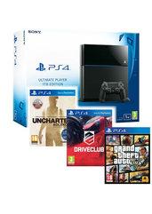 Konsola PlayStation 4 1TB + GTAV  + Uncharted Kolekcja + Driveclub - kurier 0 zł