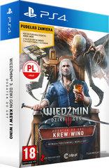 Wiedźmin III: Dziki Gon - Krew i wino Edycja Limitowana (PS4) PL