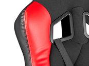 FOTEL DLA GRACZA GENESIS NITRO 330 BLACK-RED (SX33)