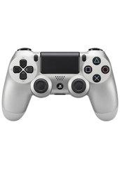 Joypad Sony DualShock 4 srebrny (PS4)