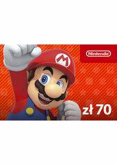 Nintendo eShop digital code 70 zł (Nintendo)