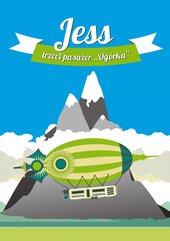 """Jess, trzeci pasażer """"Ogórka"""""""