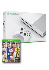 Konsola Xbox One S 500 GB + FIFA 17 + Xbox Live 6M + EA Access