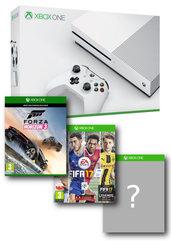 Konsola Xbox One S 1TB + Forza Horizon 3 + FIFA 17 + gra do wyboru + Xbox Live 6M + EA Access