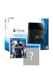 Konsola PlayStation 4 1TB + Uncharted 4 + 1. lub 2. gry do wyboru