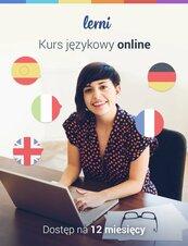 Kurs języków obcych Lerni.us - 12 miesięcy dostępu do nauki