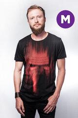 Star Wars - Kylo Ren Red lines print T-shirt - M