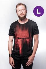 Star Wars - Kylo Ren Red lines print T-shirt - L