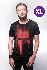 Star Wars - Kylo Ren Red lines print T-shirt - XL