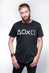 Playstation - Buttons Artwork Printed Crewneck T-shirt - XL