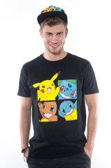 Pokémon - T-Shirt Pokemony L