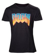 DOOM - Men's T-shirt vintage logo t-shirt - XL