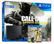 Konsola Playstation 4 Slim 1TB + COD: Infinite Warfare + FIFA 17 + gra do wyboru