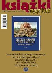 Magazyn Literacki KSIĄŻKI 12/2016