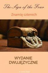 Znamię czterech. Wydanie dwujęzyczne angielsko-polskie