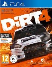 DiRT 4 - Edycja Day One Edition (PS4) PL + naszywka