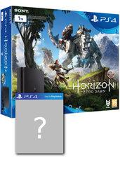 Konsola PlayStation 4 Slim 1TB + Horizon Zero Dawn + gra-niespodzianka