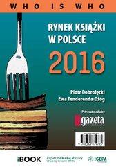 Rynek książki w Polsce 2016. Who is who