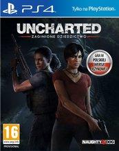 Uncharted: Zaginione Dziedzictwo (PS4) PL + Jak and Daxter!