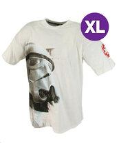 Star Wars koszulka Szturmowca biała - XL