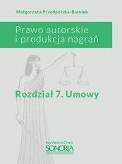 Prawo autorskie i produkcja nagrań. Rozdział 7. Umowy