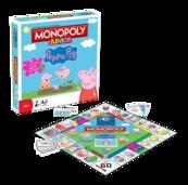 Monopoly Junior: Świnka Peppa (Gra Planszowa)