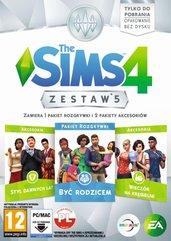 The Sims 4 Zestaw 5 (PC) PL Klucz Origin