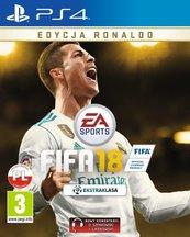 FIFA 18 Edycja Ronaldo (PS4) PL/ANG + SZALIK KIBICA!