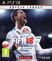 FIFA 18 Edycja Legacy (PS3) PL + SZALIK + BONUS!