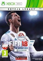 FIFA 18 Edycja Legacy (X360) PL + SZALIK