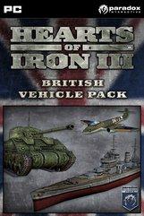 Hearts of Iron III: British Vehicle Pack (PC) DIGITÁLIS