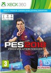 Pro Evolution Soccer 2018 Edycja Premium (X360) + ZEGAREK!