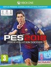 Pro Evolution Soccer 2018 Edycja Premium (XOne)