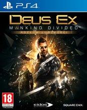 Deus Ex: Rozłam Ludzkości Edycja Steelbook (PS4) PL