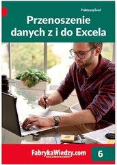 Przenoszenie danych z i do Excela