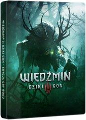 Wiedźmin III: Dziki Gon - Edycja Gry Roku + Steelbook (PC) PL + BONUS!