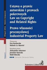 Ustawa o prawie autorskim i prawach pokrewnych. Prawo własności przemysłowej. Law of Copyright and Related Rights. Idustrial