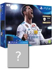 Konsola PlayStation 4 Slim 1TB + FIFA 18 + gra-niespodzianka