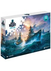 Puzzle World of Warships: Niemieckie pancerniki (Puzzle) + ZAWARTOŚĆ DODATKOWA!