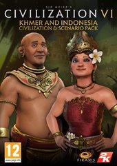 Sid Meier's Civilization VI - Khmer and Indonesia Civilization & Scenario Pack (PC) DIGITÁLIS