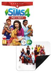 The Sims 4: Psy i koty + podkładka Steelseries QCK Sims 4