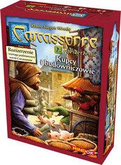 Carcassonne: Kupcy i Budowniczowie (druga edycja polska) (Gra Planszowa)