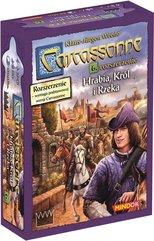 Carcassonne: Hrabia, Król i Rzeka (druga edycja) (Gra Planszowa)