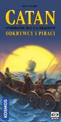 Catan - Odkrywcy i Piraci - dodatek dla 5-6 graczy (nowa edycja) (Gra Planszowa)